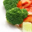Stock Photo: Fresh salad with brocolli