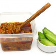 Bilimbi with pickle — Stock Photo