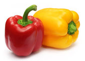 Two Capsicums — Stock Photo