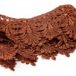 Stock Photo: Closeup of cloth lace