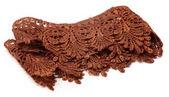 Closeup of cloth lace — Stock Photo
