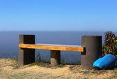 Hilltop boş koltuk — Stok fotoğraf