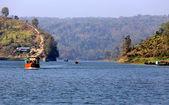 Waterways of Kaptai lake in Bangladesh — Stock Photo