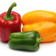 Fresh Capsicums — Stock Photo