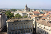 View on the centre of Avignon city, France — Photo