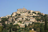 Panoramic view on the village of Gordes, France — Stock Photo