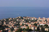 View on the Marseille city and Gulf of Lion , France — Stock Photo