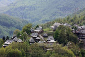 Village Drvengrad (Kustendorf) near Mokra Gora in Serbia — Stock Photo