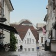 Stock Photo: Street in city Stavanger. Norway