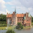 Egeskov Castle in the south of the island of Funen, Denmark. — Stock Photo #34218991
