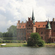 Egeskov Castle in the south of the island of Funen, Denmark. — Stock Photo #34219451