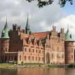 Egeskov Castle in the south of the island of Funen, Denmark. — Stock Photo #34219561