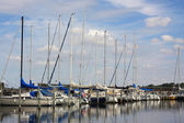 View on the sea-front of Roskilde, Denmark — Stock Photo