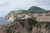 Panoramic view of the city Dubrovnik. Croatia — Stok fotoğraf