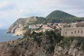 Panoramic view of the city Dubrovnik. Croatia — Zdjęcie stockowe