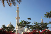 Shikh Zayed Grand Mosque in Abu Dhabi — Stockfoto