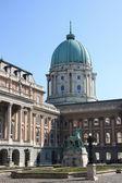 Buda Castle in Budapest. Hungary — Stock Photo