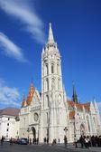 Matthias Church  in Budapest. Hungary — Stock Photo
