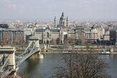 A view of the city Budapest. Hungary — Zdjęcie stockowe