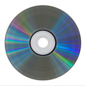 Isolated cd rom — Stock Photo