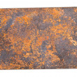 Copper plate. — Stock Photo
