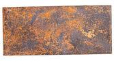 Copper plate. — Stock Photo