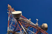 Telecommunication mast. — Stock Photo