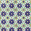 Colorful ceramic tiles — Stock Photo