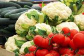 Legumes no mercado — Fotografia Stock