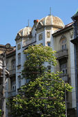 Budova v bělehradě — Stock fotografie