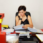 Working woman — Stock Photo #3722037
