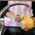 Washing dishes — Stock Photo #5127695