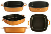 Cookware, nonstick pan — Stock Photo