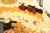 チーズの盛り合わせ — ストック写真