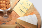 Cheese platter — Stock Photo
