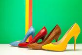 Topuklu farklı renk — Stok fotoğraf