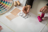 Fashion or tailor designers — Stock Photo