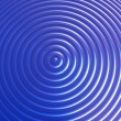 Stock Photo: Abstract blue color concentric circles background