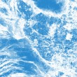Royalty-Free Stock Photo: Beautiful blue textured abstract background of ice