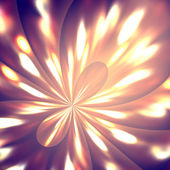 Abstract background of a flower of light — Stock Photo