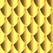 Golden Dragon skin texture - Stock Photo