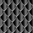 Black Dragon skin texture - Stock Photo