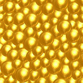 Abstract background of many golden faceted balls — Stock Photo