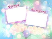 Vintage Photo Frames — Stock Vector