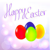 Happy Easter Eggs background — Stock Vector