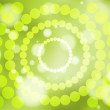 Abstract green soft focus background - Imagen vectorial