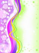 Abstrait coloré flou fond — Vecteur