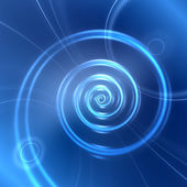 Abstract digital spiral background — Stock Photo