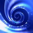 Abstract digital spiral background — Foto Stock