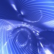Abstract futuristic blue background — Stock Photo